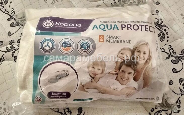"Чехол ""Aquaprotect"" 90*190 см"